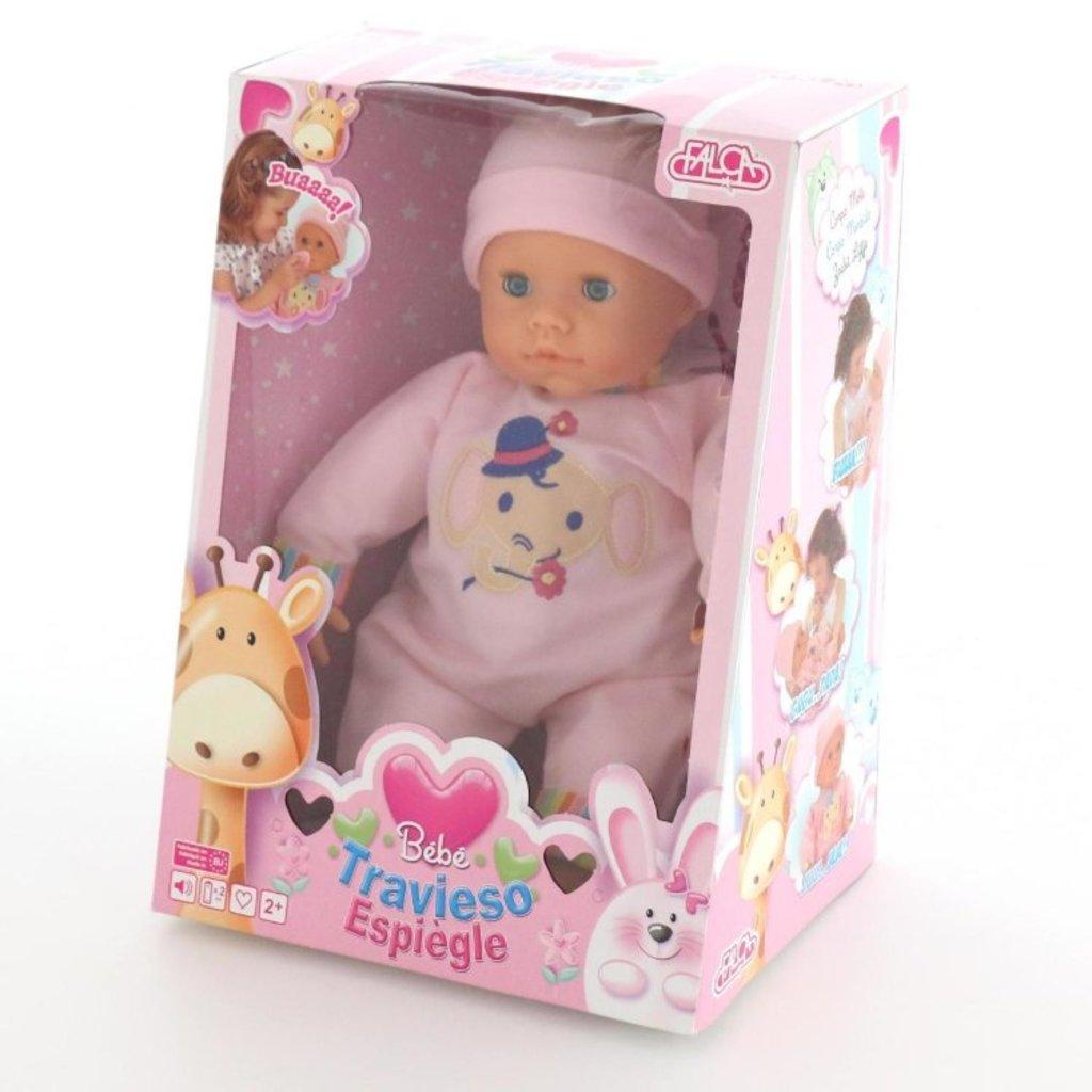 Игрушки для девочек: Кукла Пупс: озвученный, сосёт соску Полесье Falca в Игрушки Сити