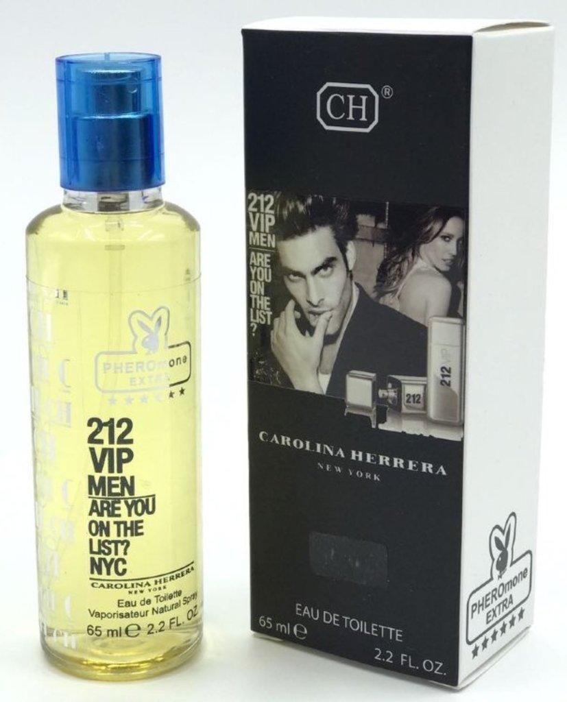 Carolina Herrera (Каролина Эррера): Мини-парфюм 65 ml с феромонами Carolina Herrera 212 VIP Men в Мой флакон