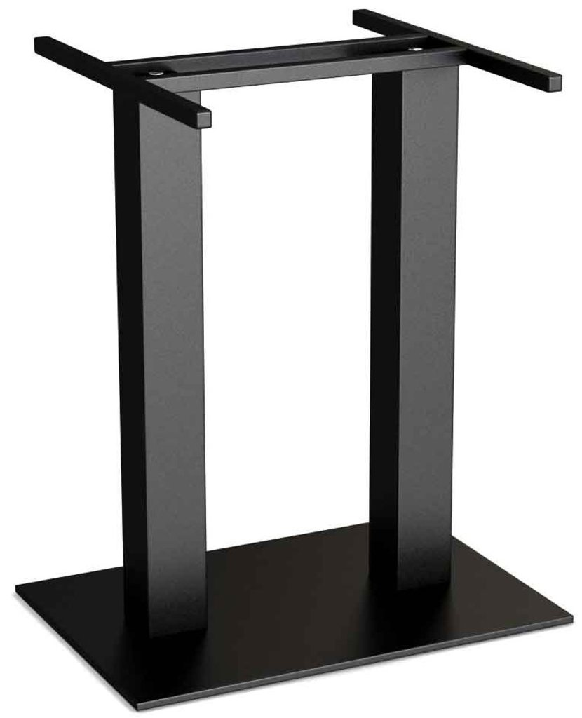 Столы для ресторана, бара, кафе, столовых.: Стол прямоугольник 1100х700, подстолья 01 С-2.100 чёрная в АРТ-МЕБЕЛЬ НН