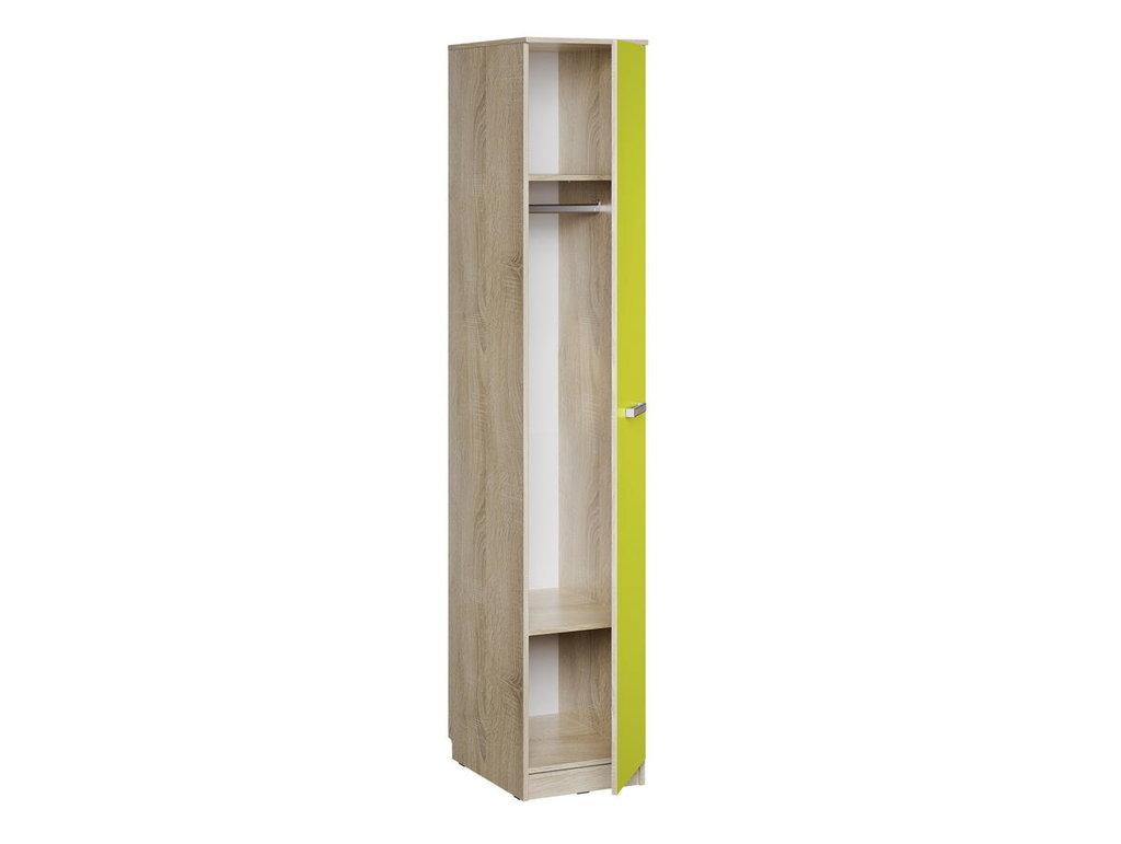 Детские шкафы и стеллажи: Шкаф для белья НМ 013.01-03 Акварель в Стильная мебель