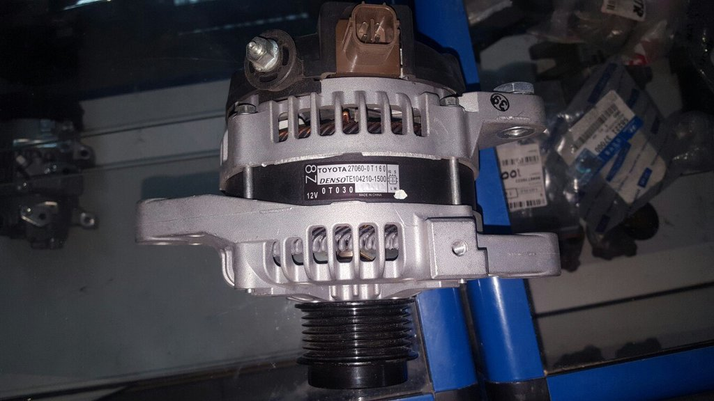 Генераторы и комплектующие: Генератор на Toyota 1ZR FE в VINcode