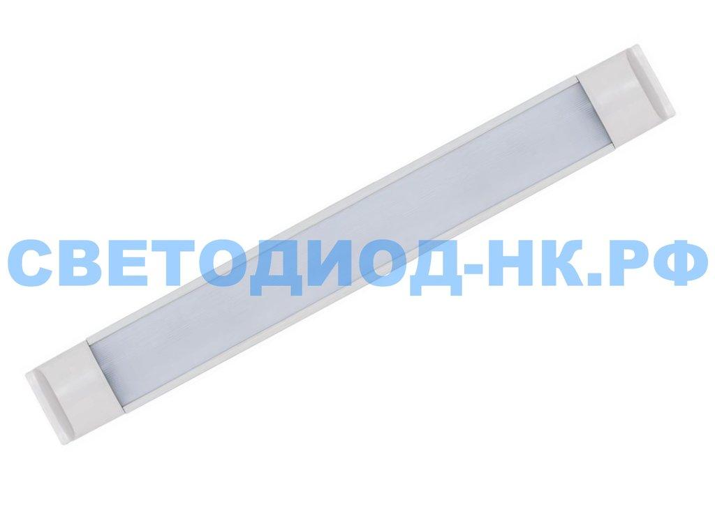 Линейные светильники: Светодиодный светильник SLL5054 16W 170Lm 4000K, в стальном корпусе, 590*60*22мм в СВЕТОВОД