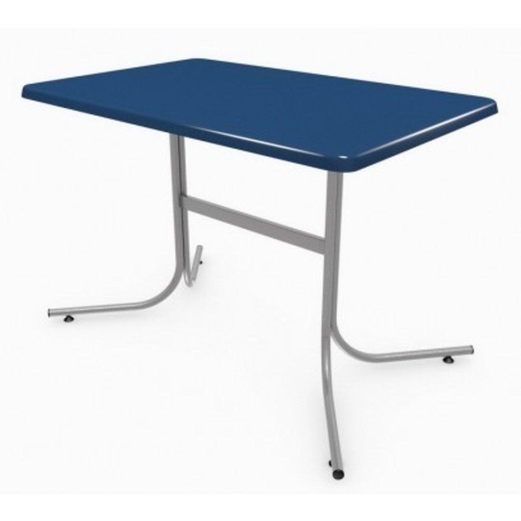 Столы для ресторана, бара, кафе, столовых: Стол прямоугольник 110х70, подстолья телескоп серая в АРТ-МЕБЕЛЬ НН