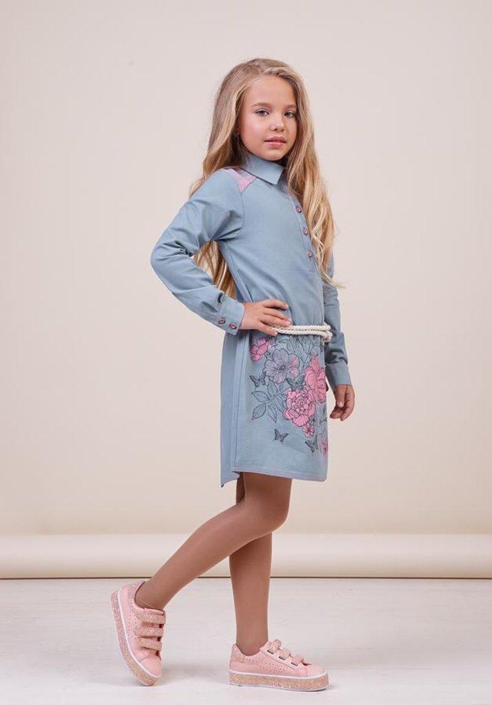 Одежда для девочек: Платье для девочки 38-8022-4 в Детский универмаг