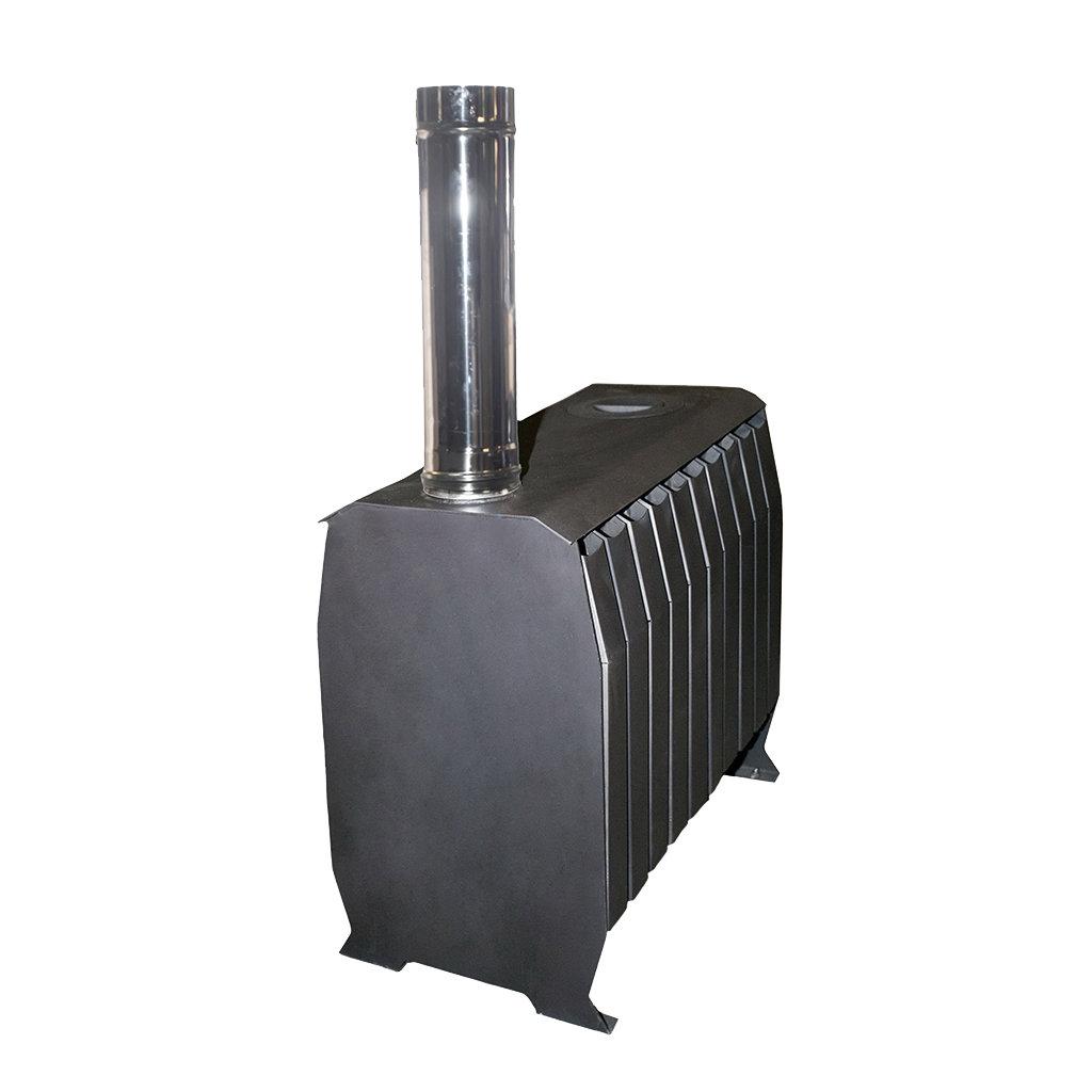 Отопительные: Печь «Теплушка В 300» с чугунной дверкой в Антиль