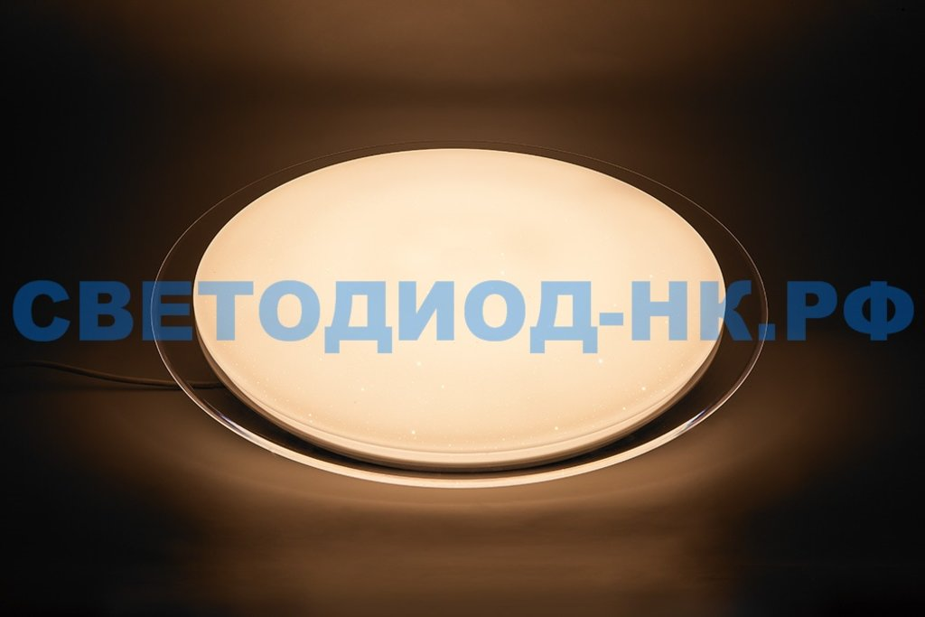 FERON: Светодиодный управляемый светильник накладной Feron AL5000 тарелка 60W 3000К-6500K белый с кантом в СВЕТОВОД