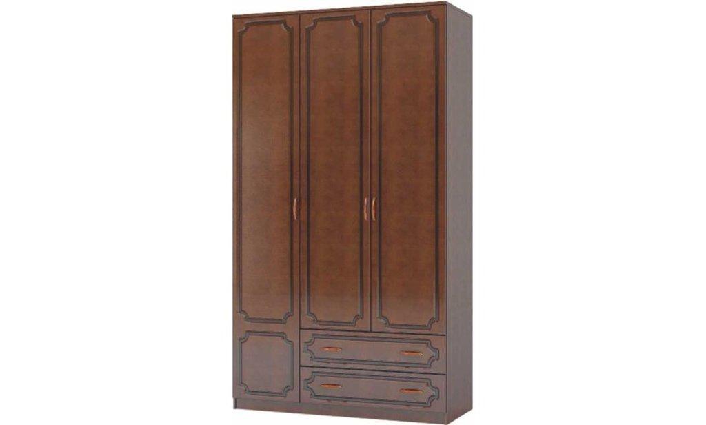 Спальный гарнитур Лакированный: Шкаф ШР-3 Лакированный, платье и бельё, 2 больших ящика в Уютный дом