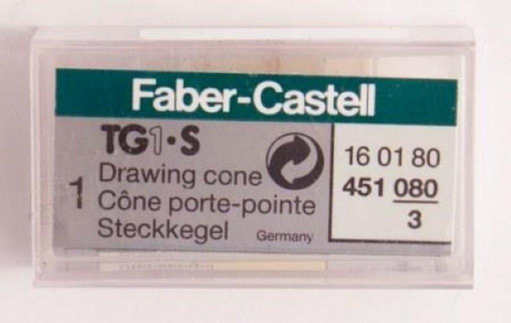 Изографы, рапидографы: Наконечник к рапидографу Faber-Castell TG-1 0,80 мм. в Шедевр, художественный салон