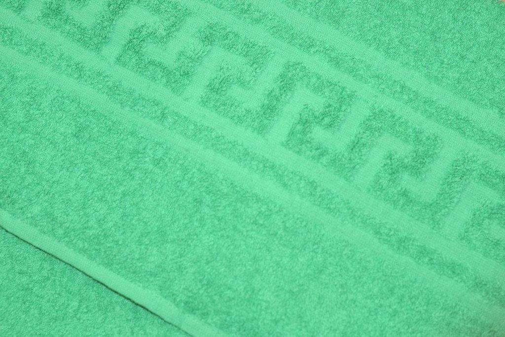 Махровые полотенца: Полотенце махровое банное (70*140 см) в Баклажан, студия вышивки и дизайна