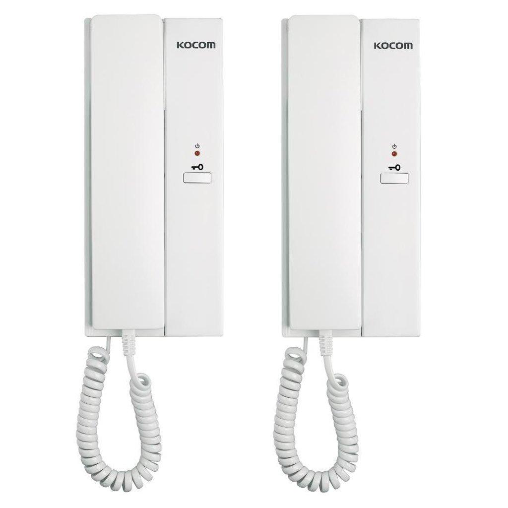 Переговорные устройства: Интерфон Kocom KIP-601P Комплект из 2 трубок в Микровидео