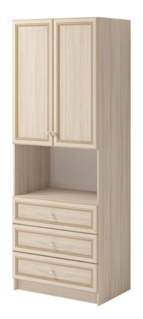 Шкафы для одежды и белья: Шкаф комбинированный 02 Брайтон в Стильная мебель