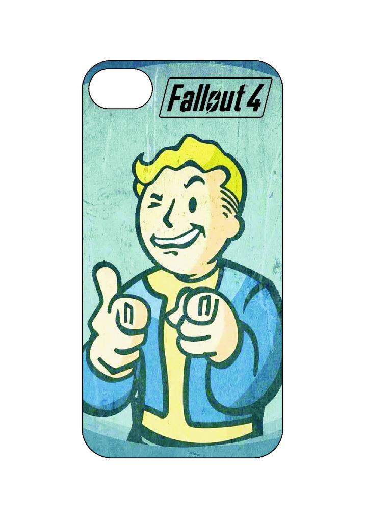 Выбери готовый дизайн для своей модели телефона: Fallout42 в NeoPlastic