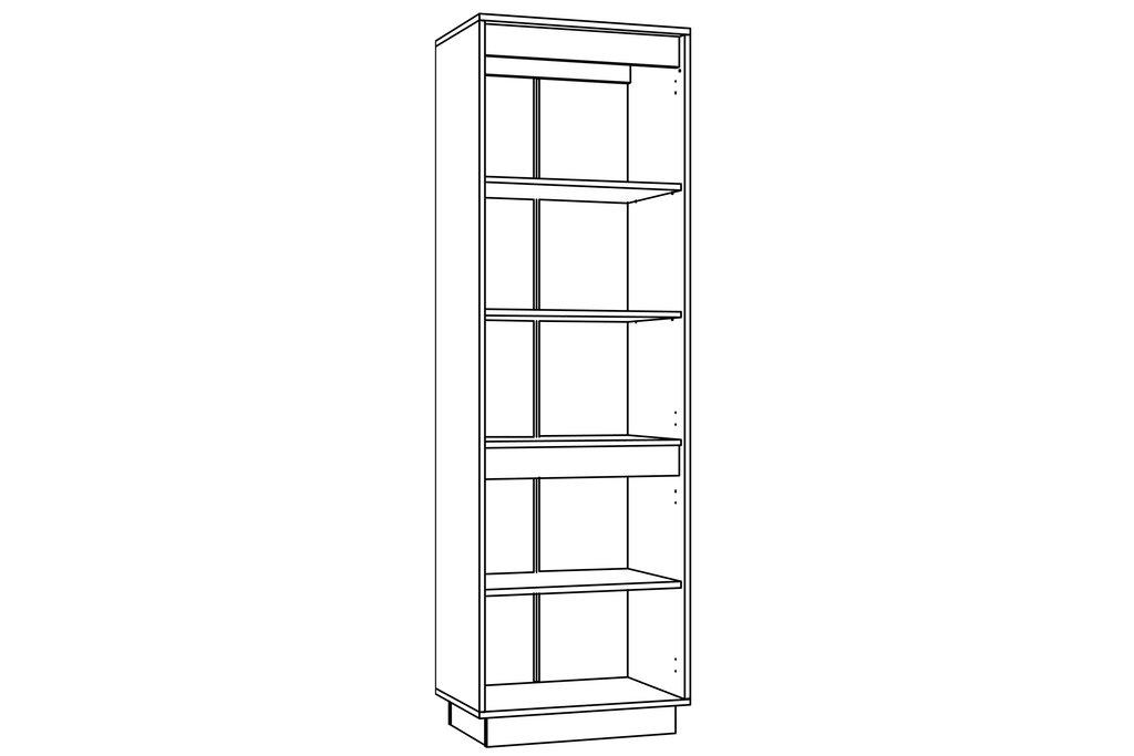 Шкафы, общие: Шкаф для одежды VIRGINIA НМ 011.80-01 в Стильная мебель
