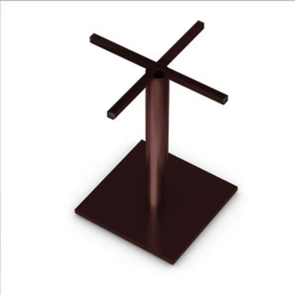 Подстолья для столов.: Подстолье 03 ST 76/715 (металлик, чёрный, коричневый, золото) в АРТ-МЕБЕЛЬ НН
