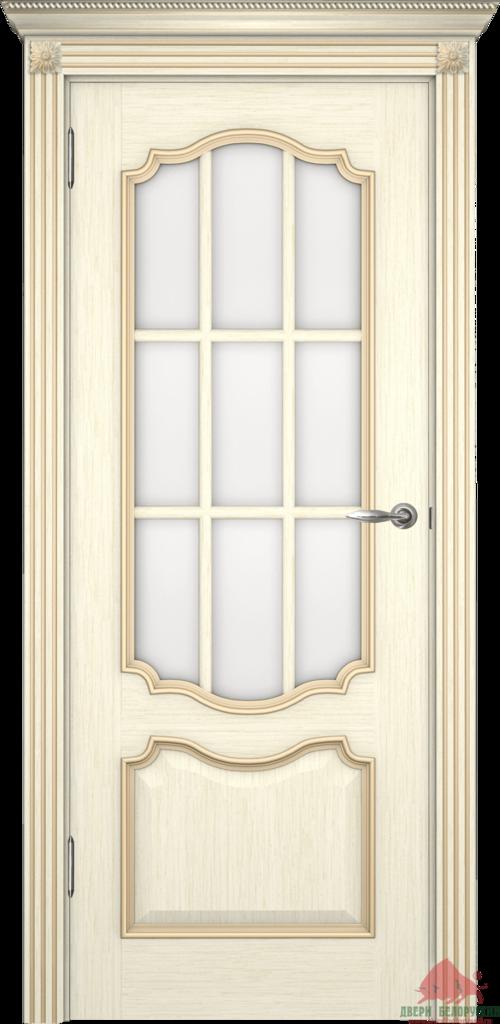 Двери Белоруссии  шпонированые: Престиж (слоновая кость) в STEKLOMASTER