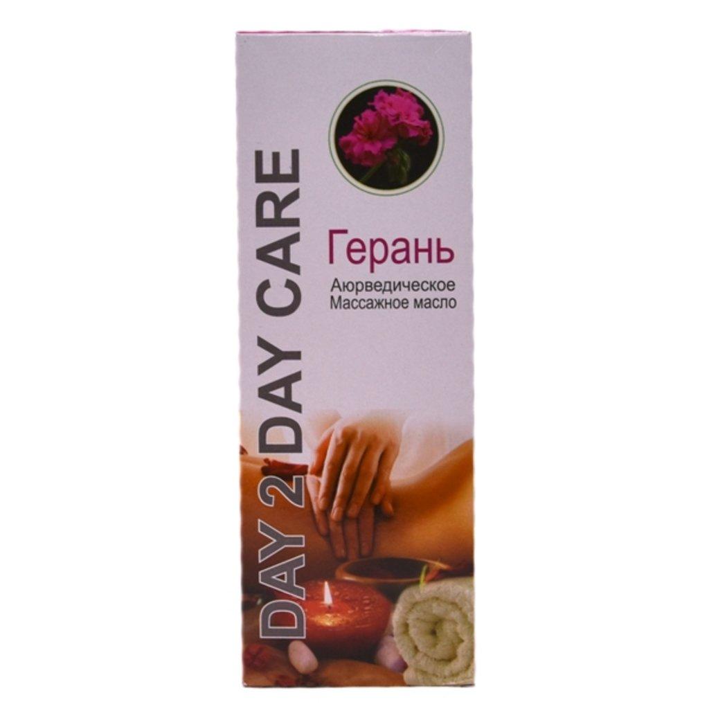 Масла, бальзамы: Аюрведическое массажное масло  - Герань (Day 2 Day Care) в Шамбала, индийская лавка