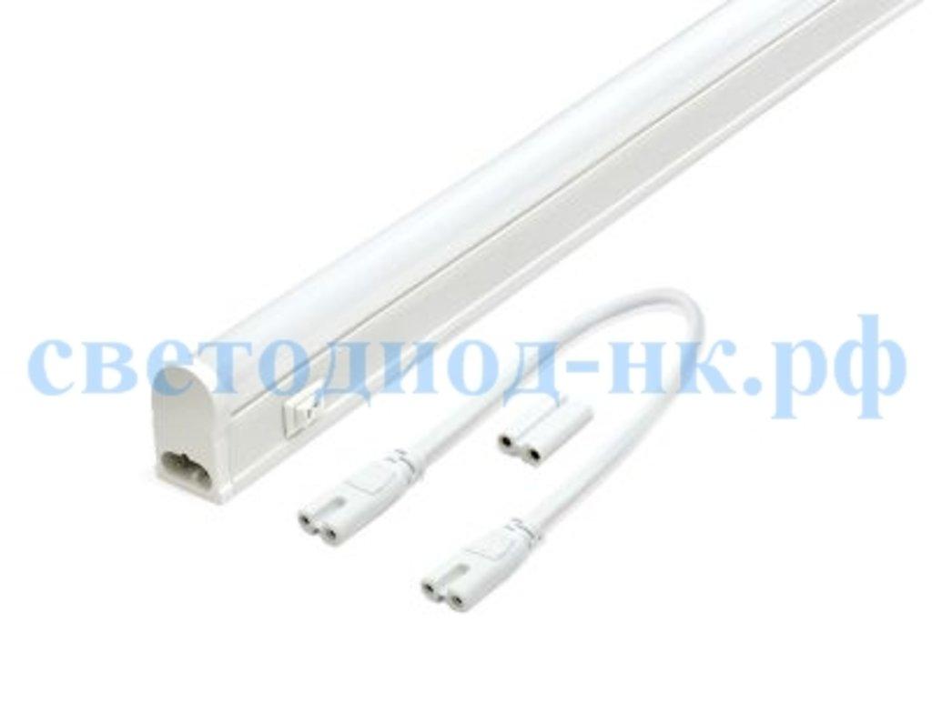 Линейные светильники: Светодиодный светильник СПБ-Т5 7Вт 230В 4000К 600лм IP40 600мм в СВЕТОВОД