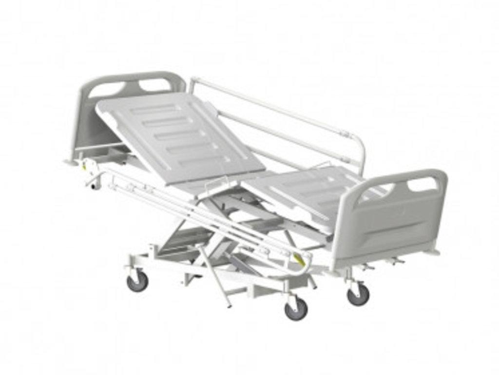 Медицинские кровати: Кровать медицинская для лежачих больных КМФТ145 МСК-3145 в Техномед, ООО