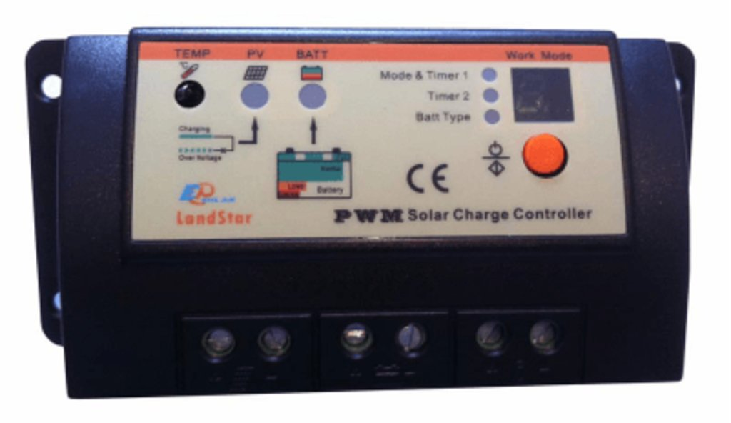 ШИМ контроллеры: Контроллер заряда EPSolar LS2024R в Горизонт
