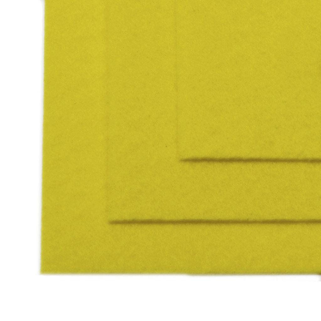 Фетр: IDEAL Фетр жёсткий 1мм 20*30см лимонный 1лист в Шедевр, художественный салон