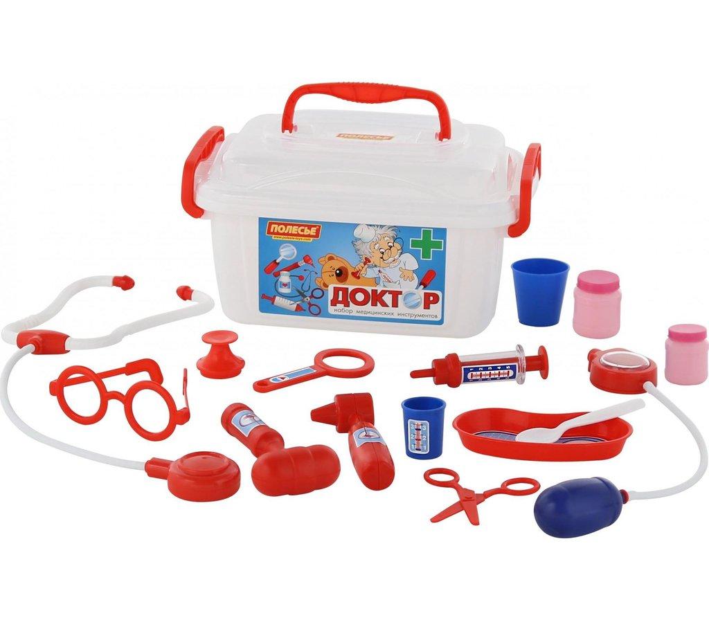 """Игрушки для девочек: Набор """"Доктор №2"""" (в контейнере) ПОЛЕСЬЕ в Игрушки Сити"""
