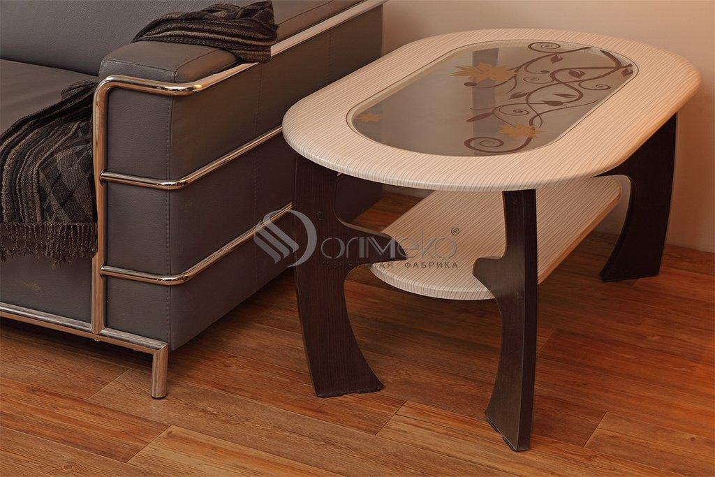 Журнальные и кофейные столики: Журнальный столик Маджеста - 2 с пескостр в Стильная мебель
