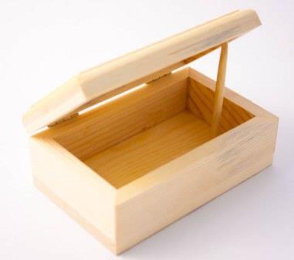 Шкатулки: Шкатулка деревянная 13*8*5.5см из массива в Шедевр, художественный салон