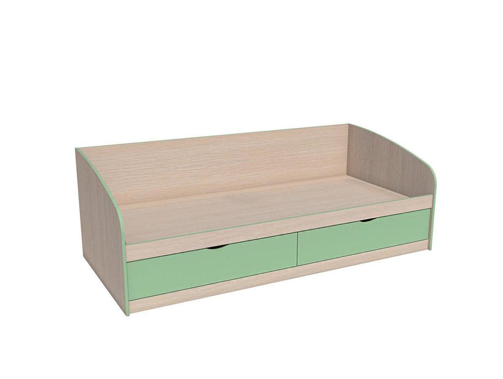 Детские и подростковые кровати: Кровать НМ 008.63 М Рико-М (900x2000, усилен. настил) в Стильная мебель