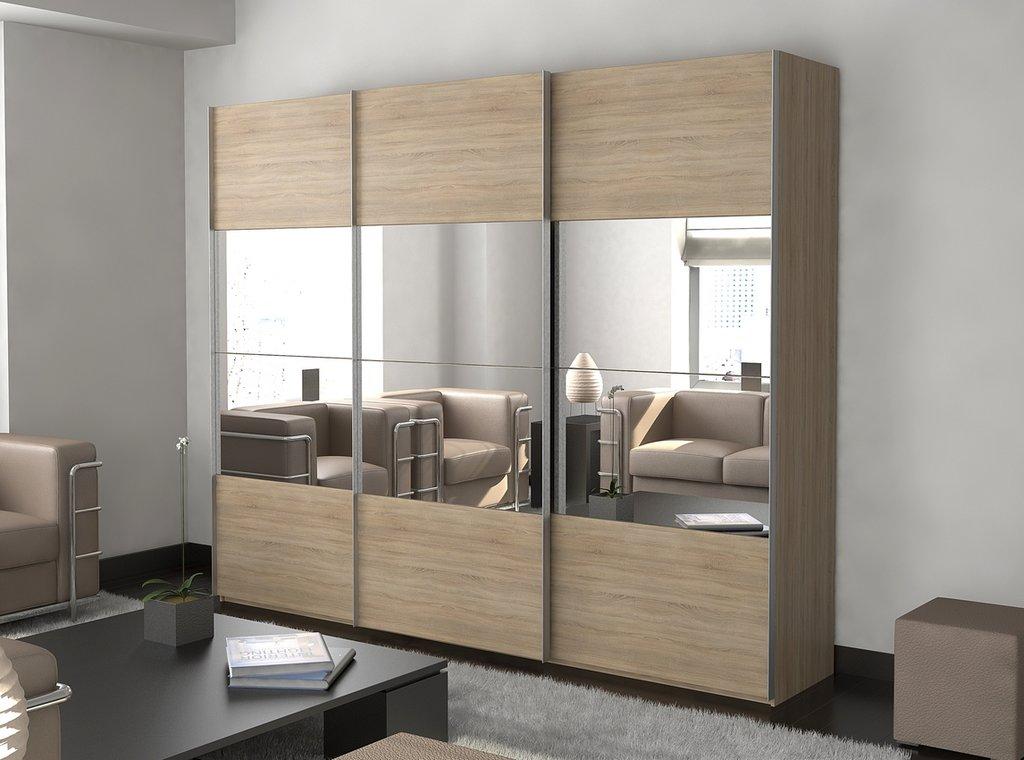 Шкафы купе: Шкаф-купе трехдверный в Мебель ХИТ