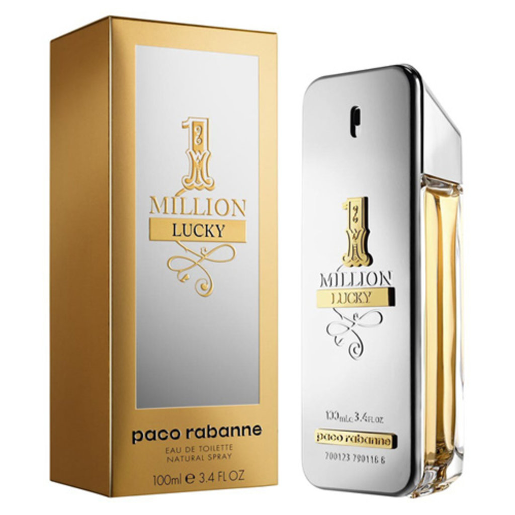 Paco Rabanne (Пако Рабан): Paco Rabanne 1 Million Lucky edt 100ml в Мой флакон