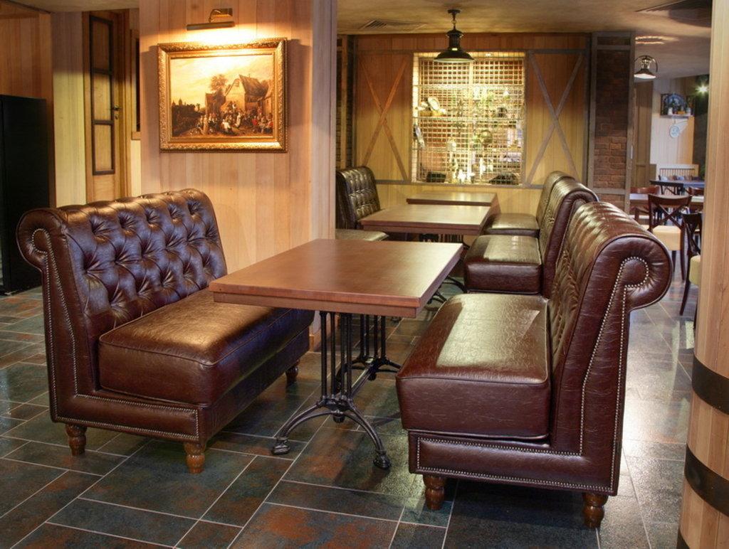 Мебель для кафе: Ретро стиль в Амадео