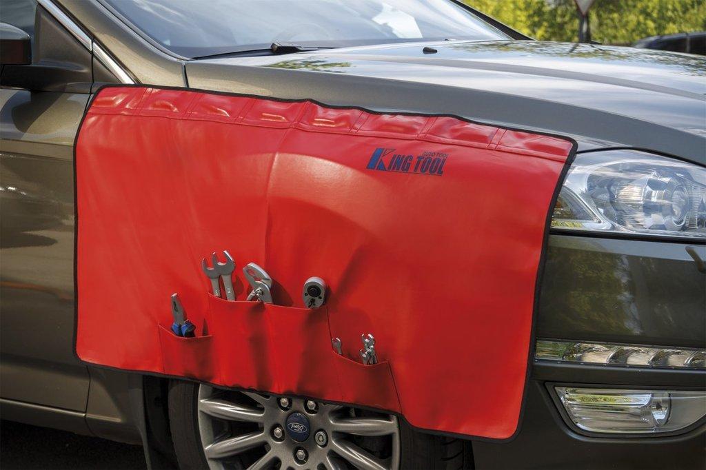 Универсальный инструмент для ремонта и диагностики автомобиля: KA-6671P магнитная защитная накидка с карманами, 1100*560 mm в Арсенал, магазин, ИП Соколов В.Л.