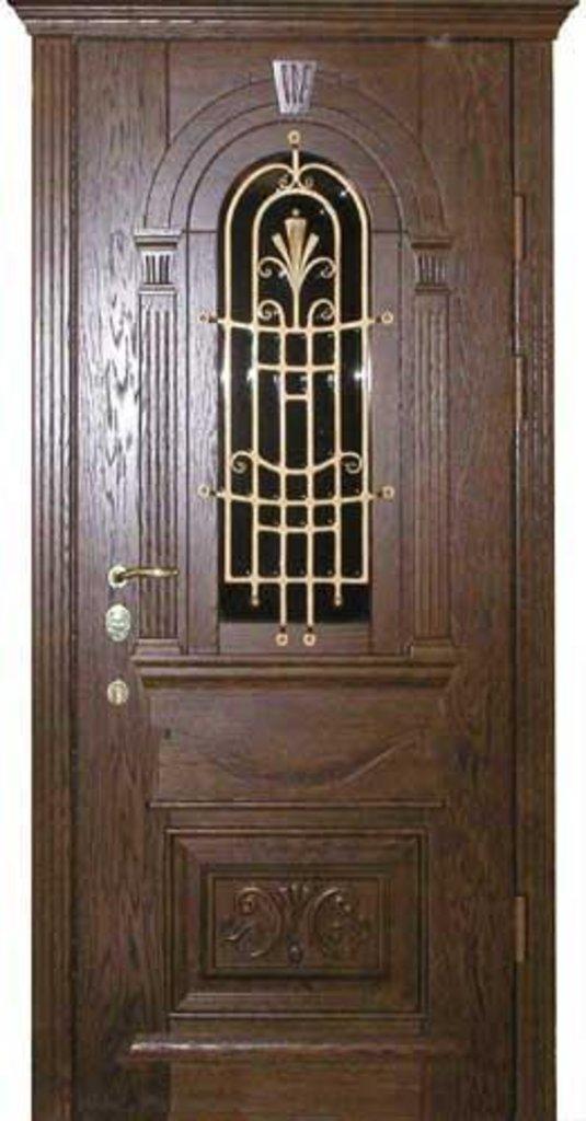 Стальные двери: Дверь металлическая Элит 1 в Мир дверей