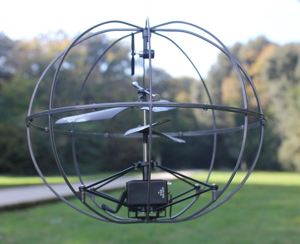 Вертолет-шар Happy Cow Robotic ИК-управление - 777-286 в Игрушки Сити