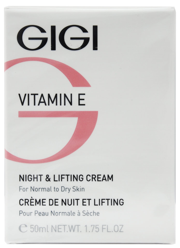 Крема: Крем ночной лифтинговый / Night & Lifting Cream, Vitamin E, GiGi в Косметичка, интернет-магазин профессиональной косметики