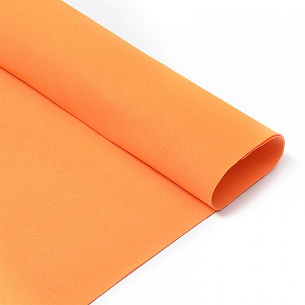 Фоамиран: Фоамиран 1мм 50*50см оранжевый, 1 лист в Шедевр, художественный салон