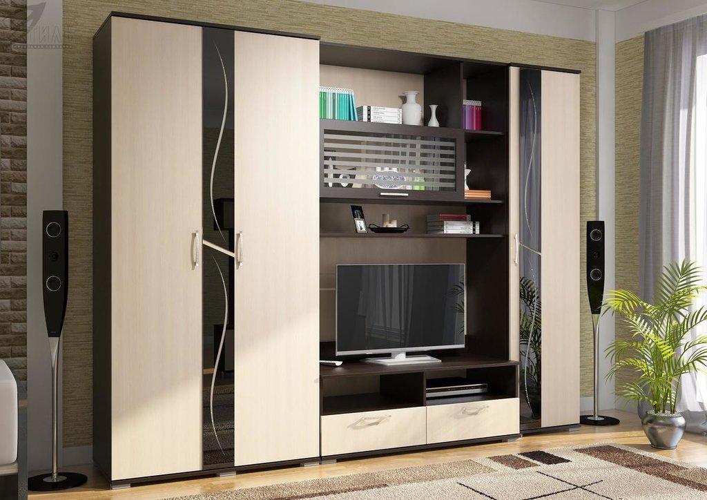 Мебель для гостиной Поло - 1: Шкаф ШК-01 для гостиной Поло - 1 в Диван Плюс