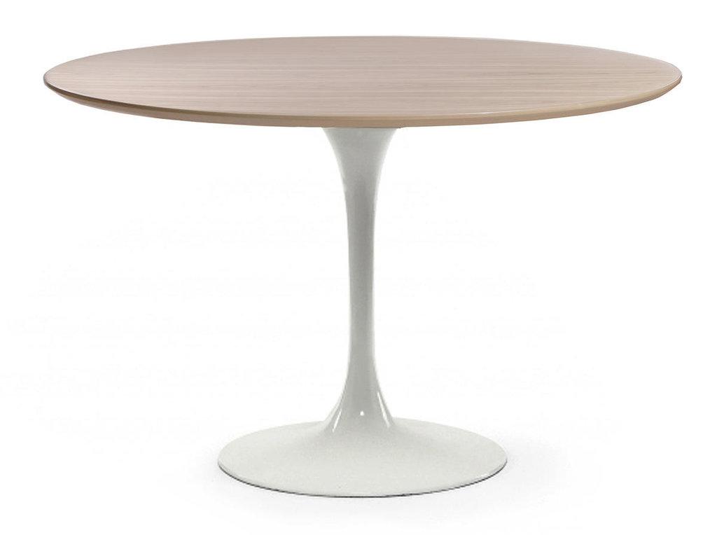 Столы обеденные: Стол обеденный Априори T круглый 120 см 13т бук в Актуальный дизайн