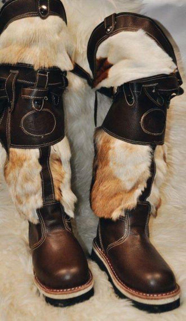 Унты, сапоги мужские: Сапоги монгольские (Ботфорты) в Сельский магазин