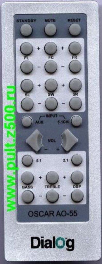 DIALOG: Пульт DIALOG OSCAR AO-55(акустика 5.1)аналог Changer в A-Центр Пульты ДУ