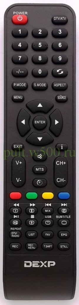 DNS: Пульт DNS V40DN54 (LCD) оригинал в A-Центр Пульты ДУ