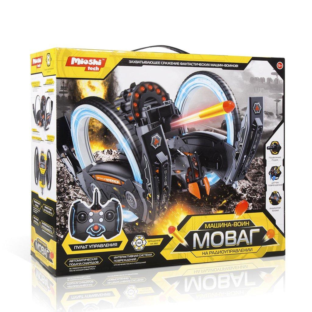 Игрушки для мальчиков: Машина трюковая Воин Моваг. Ездит, стреляет, можно устроить бой. в Игрушки Сити