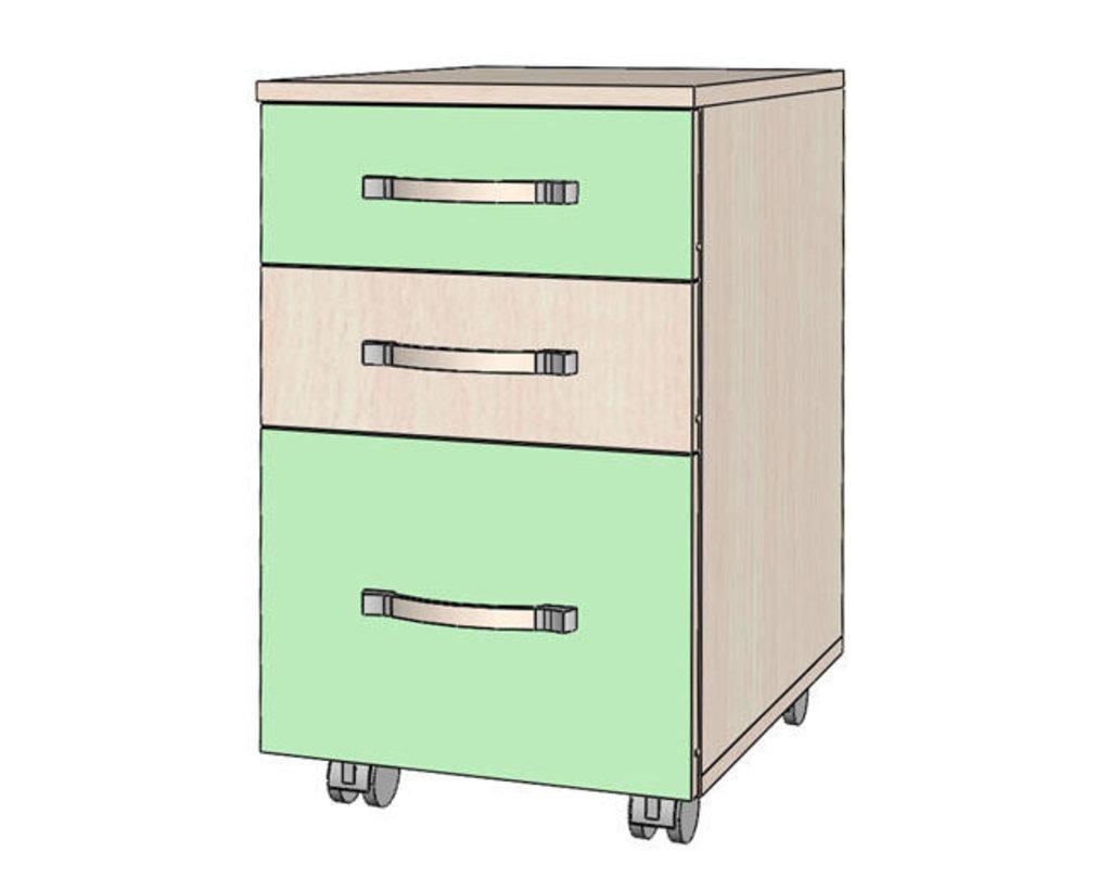 Тумбочки детские: Тумба с ящиками Буратино в Стильная мебель