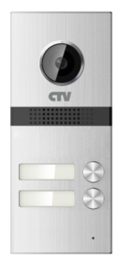 Вызывные панели: Вызывная панель для видеодомофонов на 2 абонента CTV-D2Multi в Микровидео