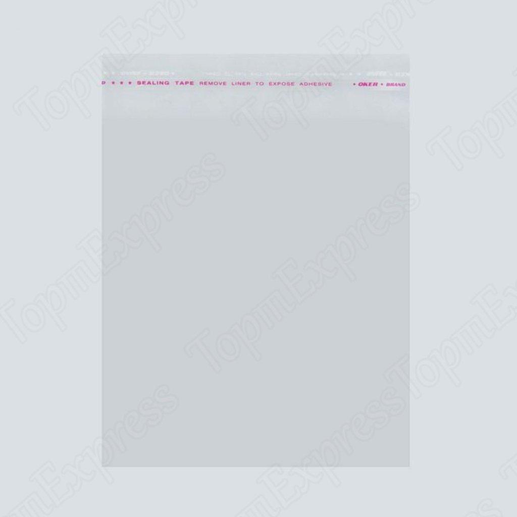 Упаковка: Пакет с липкой лентой БОПП  размер 8 х 12 см 100шт в ТортExpress