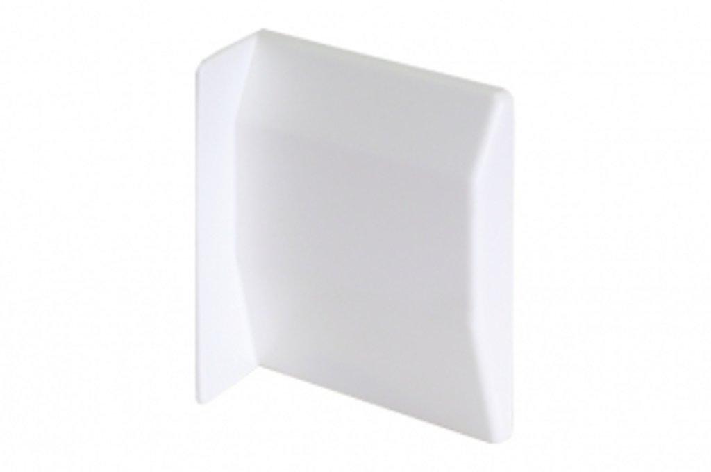 Подвеска каркасов: Крышечка декоративная для подвески арт.807 белая, правая в МебельСтрой