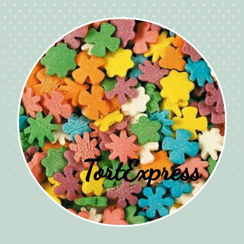 """Посыпки декоративные: Посыпка сахарная """"Полевые цветы"""" в ТортExpress"""