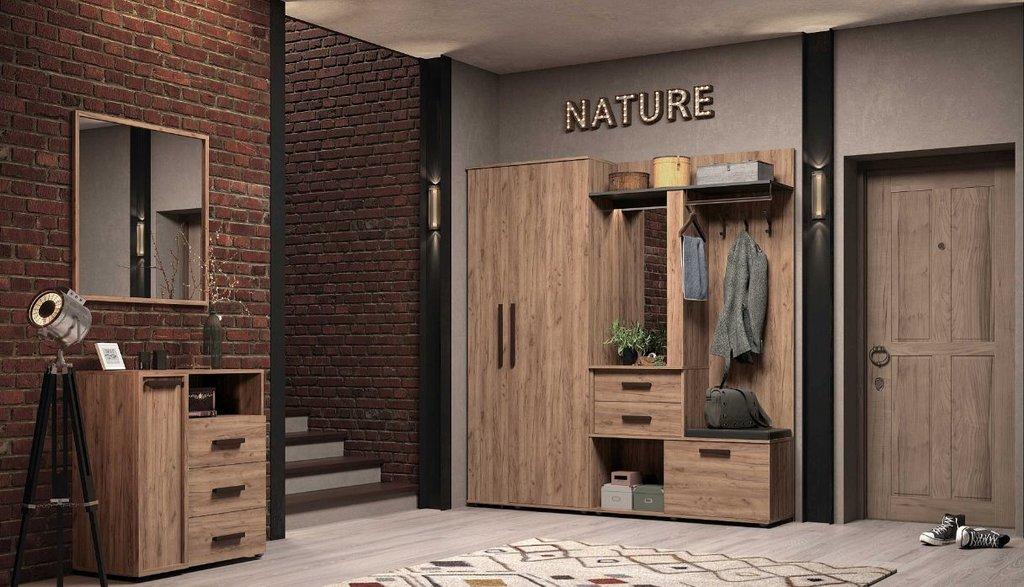 Шкафы, общие: Шкаф МЦН Nature 70 в Стильная мебель