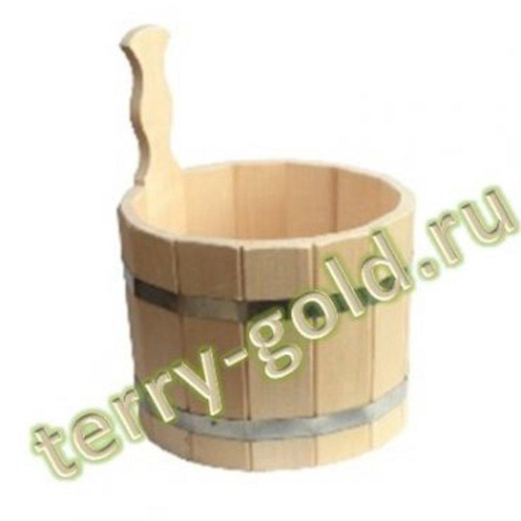 Бондарные изделия: Шайка маленькая в Terry-Gold (Терри-Голд), погонажные изделия