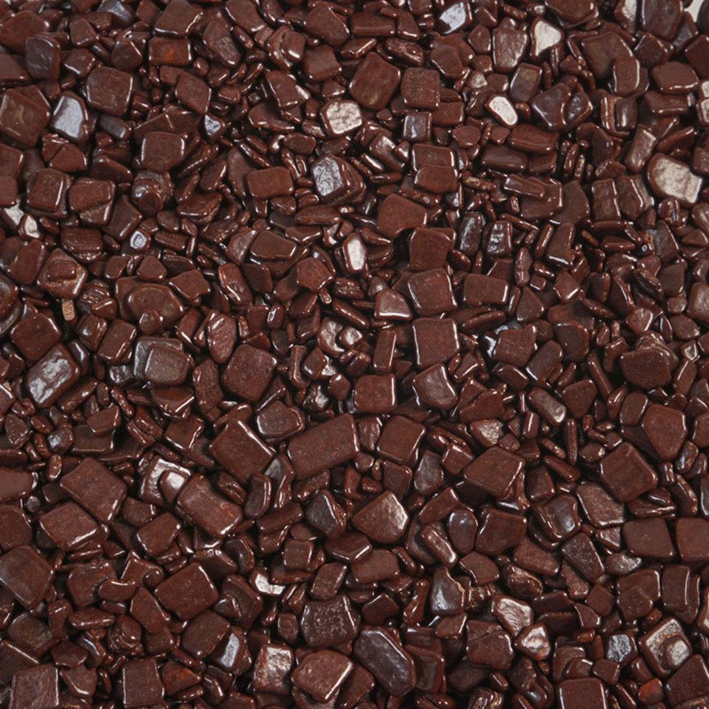 Шоколадный декор: Шоколадные чипсы темные в ТортExpress